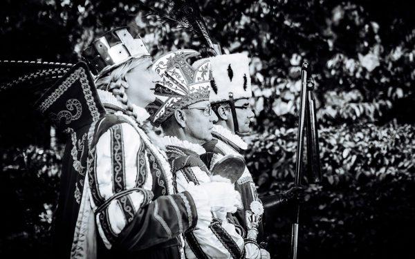 Karnevalsfotografie, Portraits Refrather Dreigestirn 2019, Gruppenportraits, Gefolgefotos